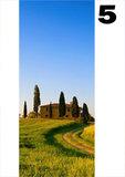 deurposter natuur toscaans landschap