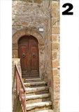 deurposter trap geveltje