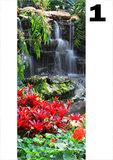 deurposter collectie watervallen