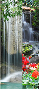 deurposter watervallen